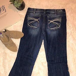 Silver Jeans Bootcut Sz 16